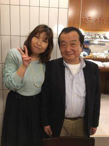 オーナーの浅見さんとAkiba Deep Travel竹内姐さんのツーショット!